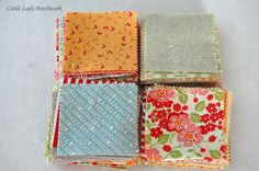 a tip for making scrappy precut quilts Rag Quilt, Scrappy Quilts, Mini Quilts, Quilt Blocks, Quilting Tips, Quilting Tutorials, Quilting Projects, Quilting Board, Crumb Quilt