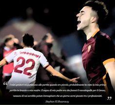 Dedizione, passione e determinazione: questa è la ricetta per andare lontano e conquistare i propri sogni!  - Stephan El Shaarawy -  #calcio #passione #sogni