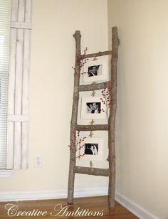 Photo Ladder - Branches, DIY