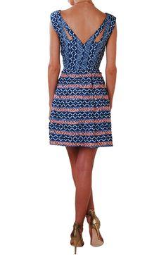 Chambray printed dress - $88.00