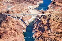 Grand Canyon helicopter flight (Hoover Dam)