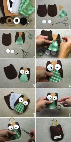 little handmade owl`s <3