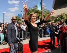If she is as good a judge of talent as she is of food, frequent client Heidi Klum is sure to make a splash on NBC's America's Got Talent. Congrats Heidi!