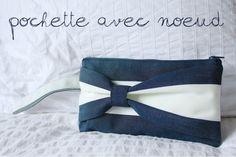 DIY – Pochette en tissu avec noeud | A way of travel