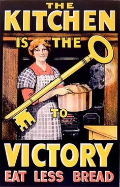 'Make do and mend': Posters from WWI can inspire today, victory gardens