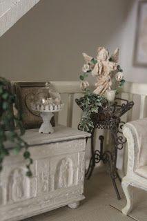 la casa di lu: un angolo del soggiorno