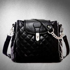 Designer Women Celebrity Handbag Shoulder Messenger Black Bag Tote Satchel Purse