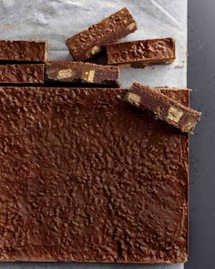 Chocolate-Candy Icebox Bars Recipe