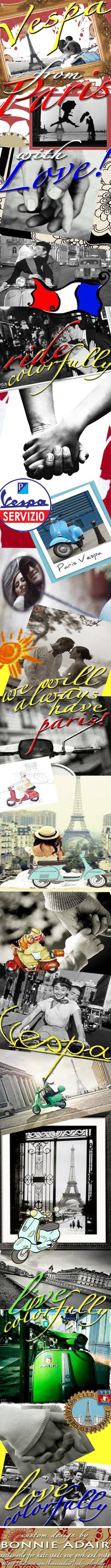 #ridecolorfully #vespa ride colorfully  @kate spade new york  @Kate @ Wit + Delight  @FATHOM - Way to Go