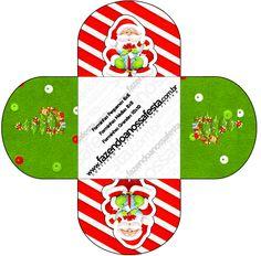 Forminhas Docinhos Redonda Natal Vermelho e Verde