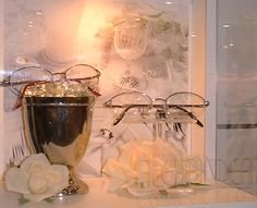 Soft and Delicate details. Alexander Collection eyewear #merchandising.