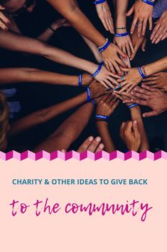 How to give back to the community as a successful business owner Charity Quotes, Blogger Tips, Giving Back, Free Blog, New Things To Learn, Blogging For Beginners, How To Raise Money, Fundraising, 2020 Vision