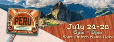 Passport to Peru Custom VBS Banners