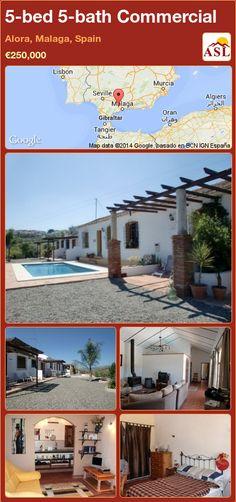 5-bed 5-bath Commercial in Alora, Malaga, Spain ►€250,000 #PropertyForSaleInSpain