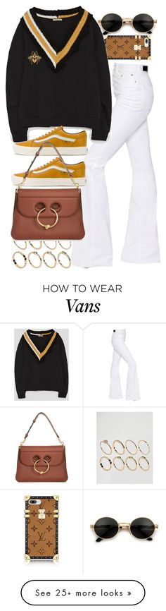 """""""Untitled #11367"""" by nikka-phillips on Polyvore featuring Sonia Rykiel, ASOS, Vans, J.W. Anderson and Gucci"""