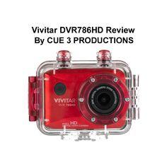 Vivitar DVR786HD Review Underwater, bike ride, low light. By CUE 3 Produ...