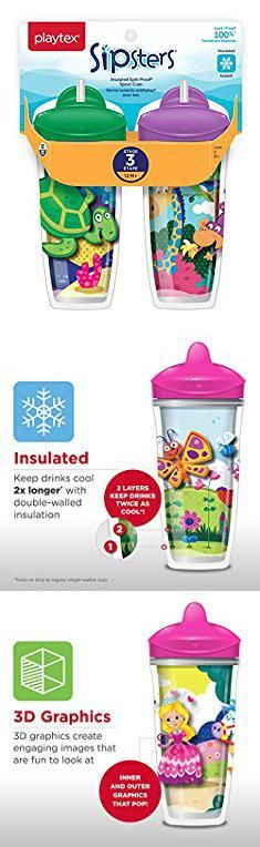Playtex Insulated Straw Cup. Playtex Sipsters Stage 3 Spill-Proof, Leak-Proof, Break-Proof Insulated Straw Sippy Cups for Boys and Girls - 9 Ounce - 2 Count.  #playtex #insulated #straw #cup #playtexinsulated #insulatedstraw #strawcup