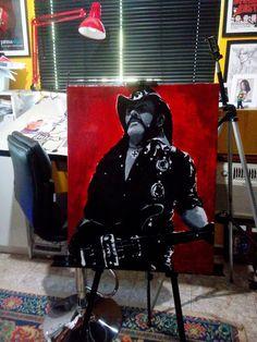 Mauro Vila Real: Lemmy Kilmister - Motörhead