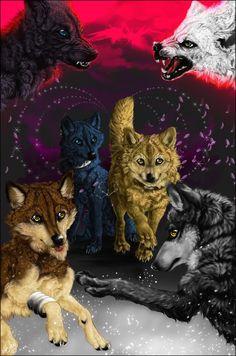 chibis wolfs rain by whitesspiritwolf on deviantart