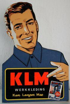 1950; nooit geweten wat KLM betekende....