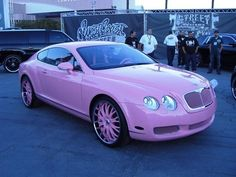 Pink Bently