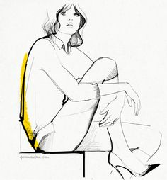 The Mysterious Allure of Yoga Pants / Garance Doré