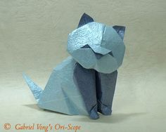 origami cat instructions | do origami