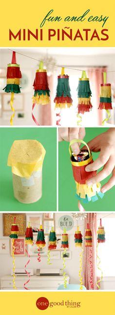 diy pinatas Fiesta Theme Party, Taco Party, Festa Party, Fiesta Games, Fiesta Party Decorations, Ramadan Decorations, Decoration Party, Mini Pinatas, Pinatas Diy