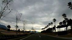 鹿児島市の風景|小雨がぱらつく中、久しぶりのマリンポート鹿児島はアンニュイな光景でした (^^;