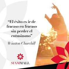 """""""Success is the ability to go from one failure to another with no loss of enthusiasm"""". - Winston Churchill #CCSiamMall #QuoteOfTheDay"""
