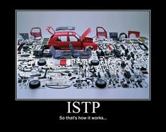 So that's how It works.....(ISTP introverted thinking on display)