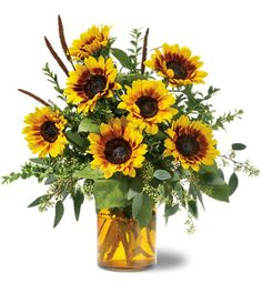 Country Style Flower Arrangements | FALL BOUQUETS Delivered in Sparta, NC - Alleghany County by Brookside ...