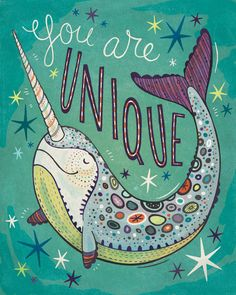 you are unique ♡ | via Tumblr on We Heart It. http://weheartit.com/entry/67768827/via/surpriselilydesigns