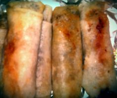 """Greg's Egg Rolls! """"pretty good but to my taste too much peanut butter. ill make this again but I'm subing s few ingtrst. :+)""""  @allthecooks #recipe #chinese #appetizer #easy #rolls #egg"""