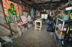 My studio was so clean when I set it up. Used Power Tools, Stone Carving, The Originals, Studio, Design, Home Decor, Homemade Home Decor, Stone Sculpture, Design Comics