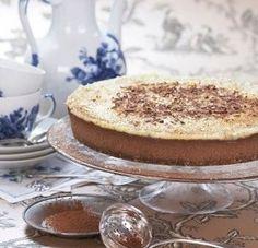 Bilde av Florentinsk ostekake. Cottage Cheese, Vanilla Cake, Tiramisu, French Toast, Pudding, Breakfast, Ethnic Recipes, Desserts, Food