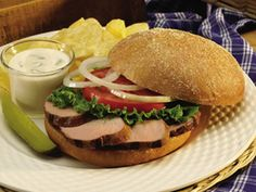 Smithfield.com - Tailgate Pork Sandwich  http://www.smithfield.com/recipes/recipe/tailgate-pork-sandwich