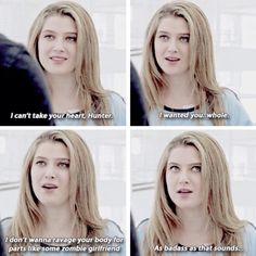 "#RedBandSociety 1x12 ""We'll Always Have Paris"" - Kara and Hunter"