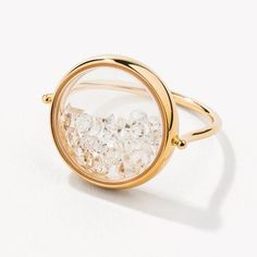 Awesome Aurélie Bidermann diamond ring Chivor - Women's Jewelry and Accessories-Women Fashion Cute Jewelry, Modern Jewelry, Jewelry Gifts, Gold Jewelry, Unique Jewelry, Jewelry Case, Leather Jewelry, Aurelie Bidermann, Accesorios Casual