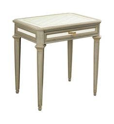 Antoinette Side Table from the Suzanne Kasler collection by Hickory Chair Furniture Co.