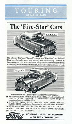 Fifties Fords by Lost-Albion, via Flickr