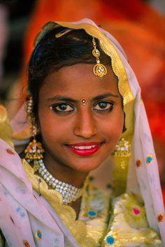 Femme du Rajasthan à la foire de Pushkar  . photo: Blaine Harrington