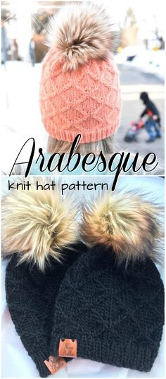 I\'m back with a super bulky knitting hat pattern using the softest ...