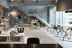 画像: 6/29【シティバイクとコーヒー、雑貨扱う「レシオ・アンドシー」外苑西通りに出店】