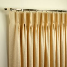 Duo Pleat Curtains