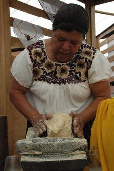 Cocinera tradicional michoacana