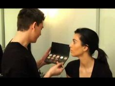 Kim Kardashian and Mario Dedivanovic Makeup Video / Tutorial..... this is another great tutorial with step by step  how tos