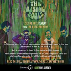 The Rising Souls new EP, Set Me Free, has been reviewed by The Music Brewery. Read the full review here: https://themusicbrewery.co.uk/2016/11/07/ep-review-the-rising-souls-set-me-free/  Set Me Free will be launched on November 26th at THE LIQUID ROOMS (Official). More info: https://www.facebook.com/events/1662252214088364/