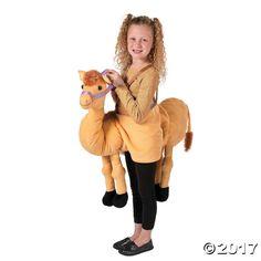 Plush Nativity Camel Costume