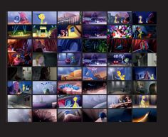 Making of & Color Script - Inside Out